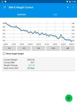 BMI & Weight Control screenshot 3