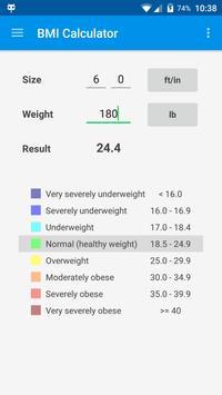 BMI & Weight Control screenshot 2