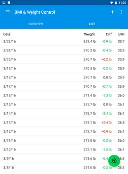 BMI & Weight Control screenshot 4
