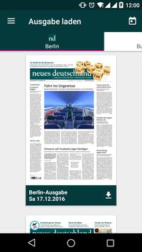 nd.App: neues deutschland poster