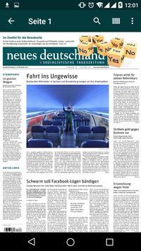 nd.App: neues deutschland screenshot 1