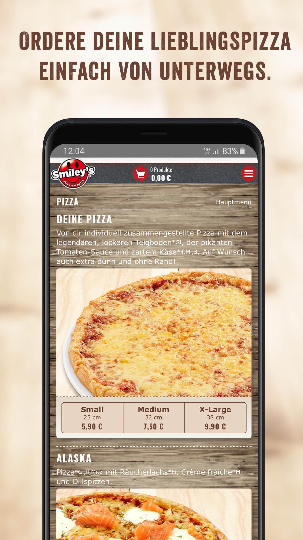 smileys pizza braunschweig