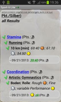 Sport-ii Lite screenshot 4