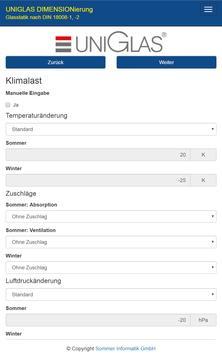 UNIGLAS DIMENSIONierung screenshot 19