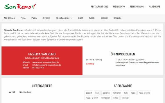 Pizzeria San Remo (Neu-Isenburg) screenshot 3