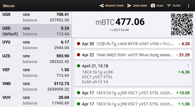 Bitcoin Wallet screenshot 10