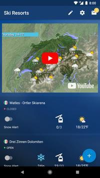 Snow Report تصوير الشاشة 6