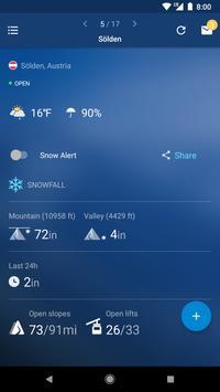 Snow Report الملصق