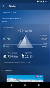 Snow Report تصوير الشاشة 1