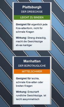 Krawatten binden - DEUTSCH स्क्रीनशॉट 4