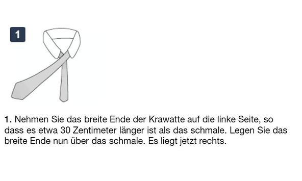 Krawatten binden - DEUTSCH स्क्रीनशॉट 5