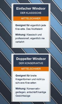 Krawatten binden - DEUTSCH स्क्रीनशॉट 1
