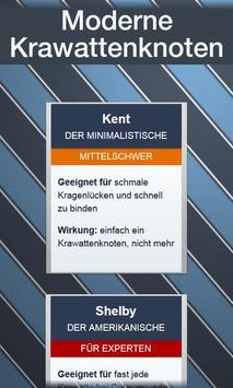Krawatten binden - DEUTSCH स्क्रीनशॉट 2