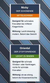 Krawatten binden - DEUTSCH स्क्रीनशॉट 3