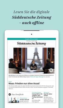 Süddeutsche Zeitung Zeitungsapp screenshot 14