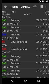Shooting Results screenshot 2
