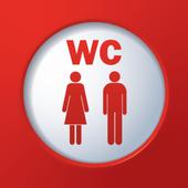 Public Toilet Finder | No. 1 Restroom Locator icon