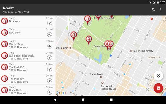 Public Toilet Finder | No. 1 Restroom Locator screenshot 5