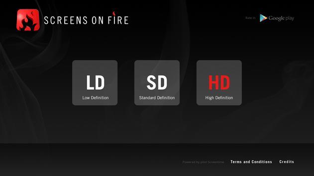 Screens on Fire screenshot 1