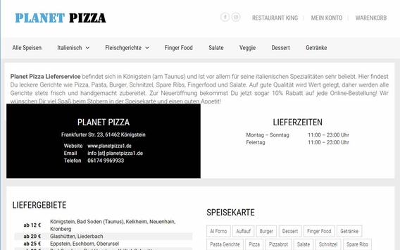 Planet Pizza (Königstein) screenshot 6