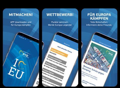 Europa-App poster