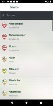 Abfall-App STL screenshot 4
