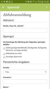 Abfall-App WML screenshot 4