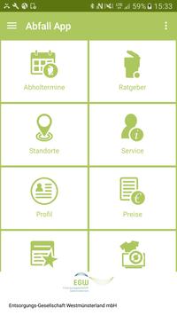Abfall-App WML poster