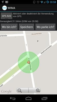 Where is my car (WIMA) screenshot 3
