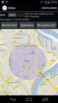 Where is my car (WIMA) screenshot 1