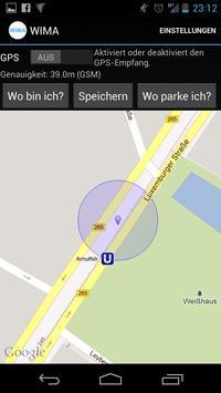 Where is my car (WIMA) screenshot 2