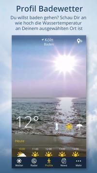 Wetter.de – Wetter, Regenradar und Wetterprofile Screenshot 3