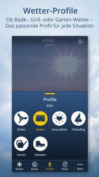 Wetter.de – Wetter, Regenradar und Wetterprofile Screenshot 2