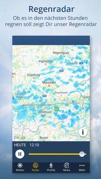 Wetter.de – Wetter, Regenradar und Wetterprofile Screenshot 4