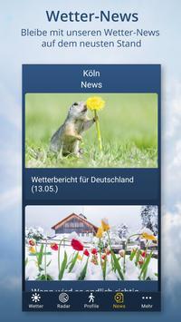 Wetter.de – Wetter, Regenradar und Wetterprofile Screenshot 5