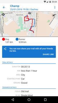 The Mantrailing App capture d'écran 1