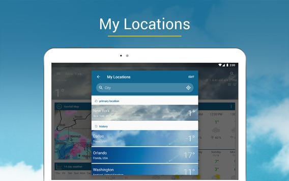 Tiempo & Radar: alarma de lluvia, tiempo 14 días captura de pantalla 10