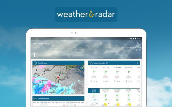 Tiempo & Radar: alarma de lluvia, tiempo 14 días captura de pantalla 8