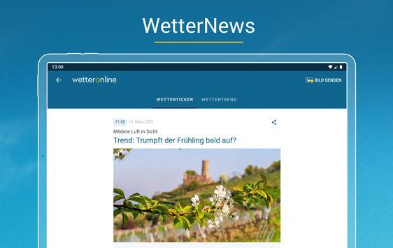 Wetter Online mit Unwetterwarnung Screenshot 16
