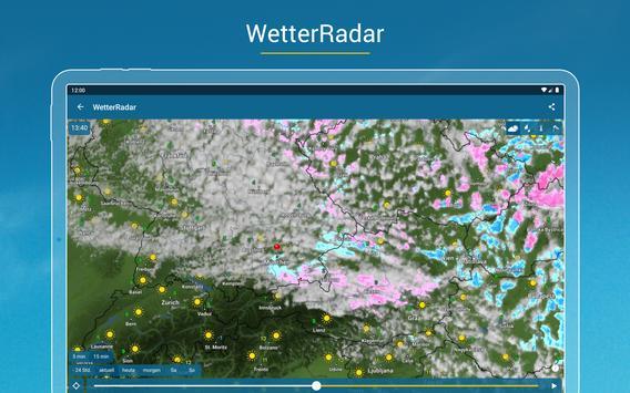 Wetter Online mit Unwetterwarnung Screenshot 7