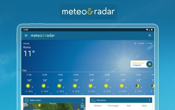 15 Schermata Meteo & Radar: con allerte meteo