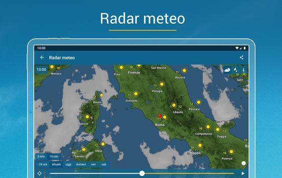 17 Schermata Meteo & Radar: con allerte meteo