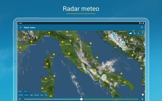 20 Schermata Meteo & Radar: allerte meteo
