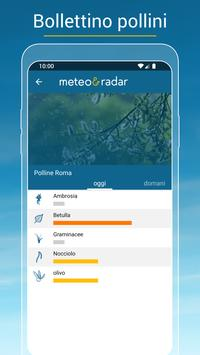 5 Schermata Meteo & Radar: con allerte meteo