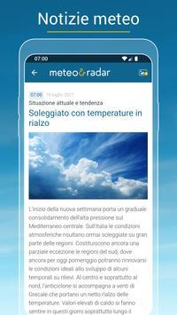 6 Schermata Meteo & Radar: allerte meteo