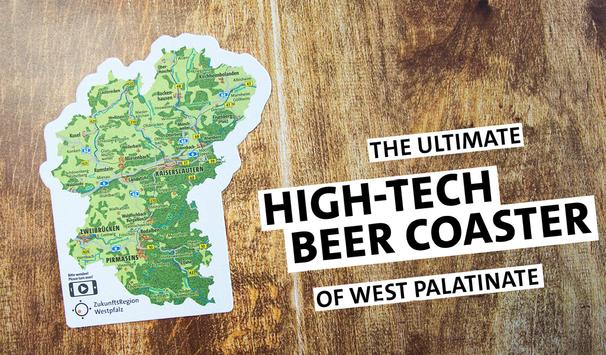 Beer Coaster of West Palatinate poster