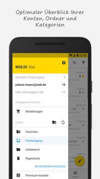 WEB.DE Mail screenshot 1