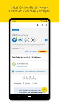 WEB.DE Mail Screenshot 2