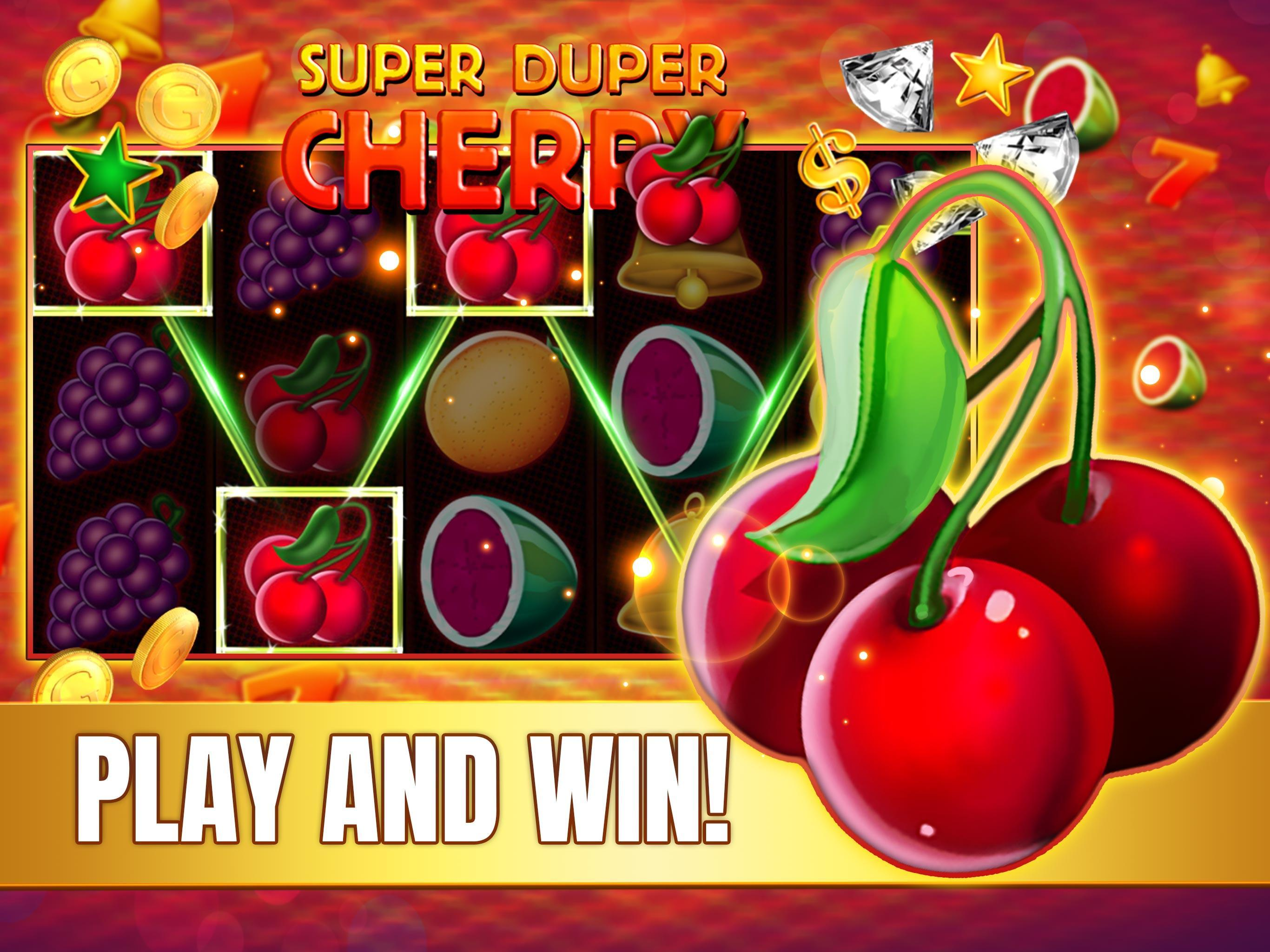 Super duper cherry slot free