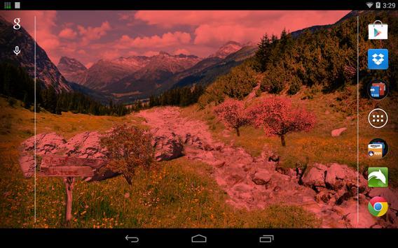 Mountain River Live Wallpaper screenshot 8